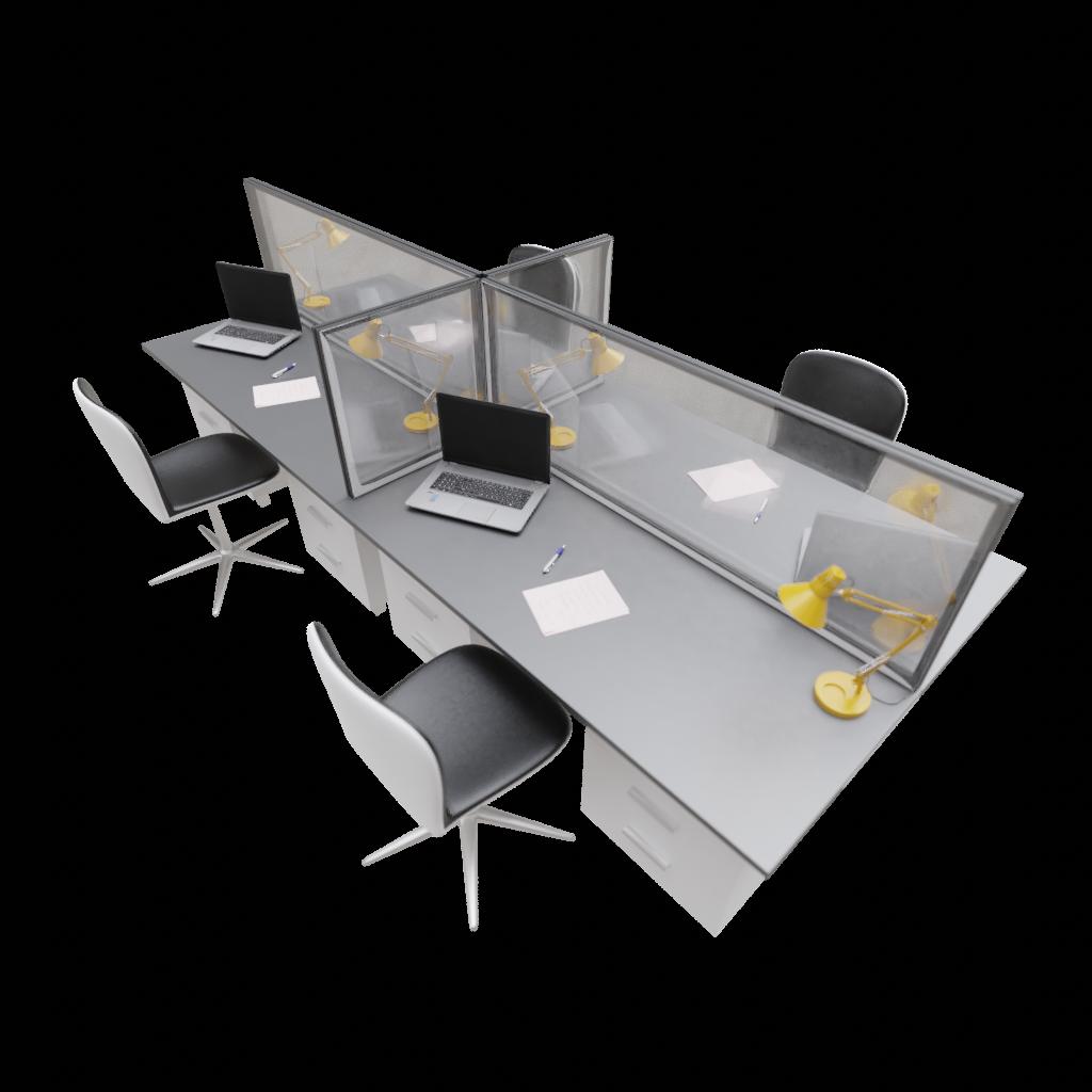 Schreibtischabdeckung – transparent oder mit Grafiken